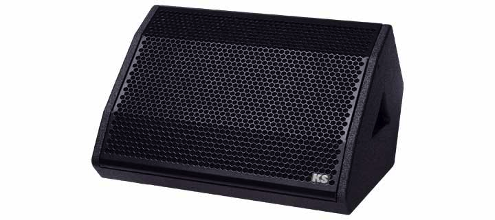 Live pa loudspeakers cpd 12m powered floor monitor ks audio for 12 floor monitor